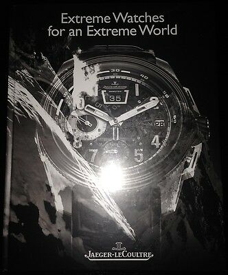 "Jaeger-LeCoultre Buch ""Extreme Watches for an Extreme World""! JLC book!"