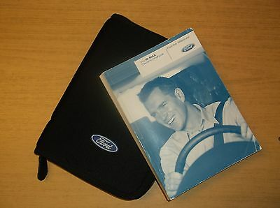 2008 Ford Cmax Owners Handbook / Manual And Black Ford Zip Case