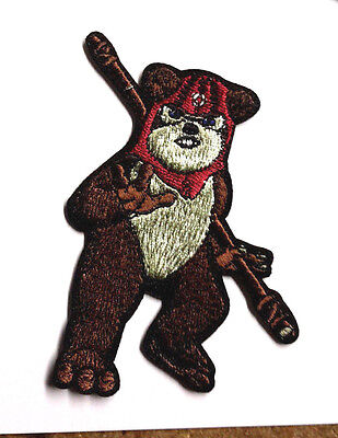 """Star Wars EWOK 3.5""""  Embroidered Patch- USA Mailed (SWPA-FC-20)"""