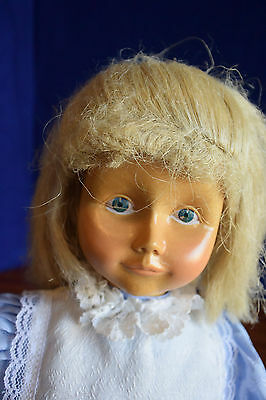 Lovely Dolfi Wood Doll, Nice Carving & Hand Painting!