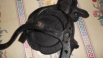Antique Root-Health  HEAVY Cast Iron Corn Husker Never Fail USA