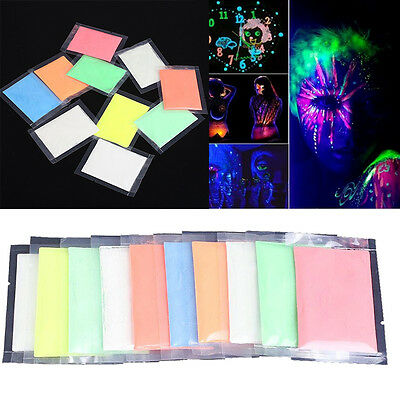 Creative Body Paint Painting Makeup Face Luminous Stage Glow in Dark Paint