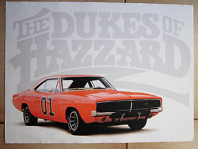 POSTER Dodge Charger Hazzard 1968