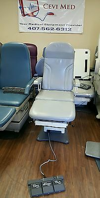 MTI Podiatry Medical Exam Chair 3 functions -POWER TILT- POWER BACK- POWER BASE