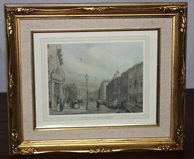"Vintage Framed Print ""Piccadilly from the corner of Old Bond Street"" [PL2666]"