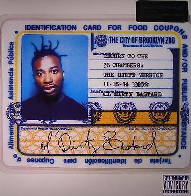 OL' DIRTY BASTARD - Return To The 36 Chambers (Dirty Version) - Vinyl (2xLP)