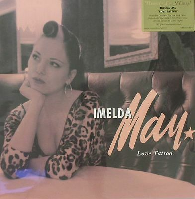 MAY, Imelda - Love Tattoo - Vinyl (180 gram audiophile vinyl LP)