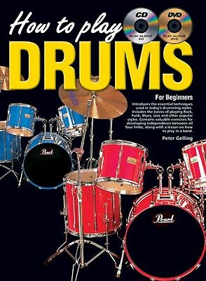 How To Play Drums. Sheet Music, Book, CD