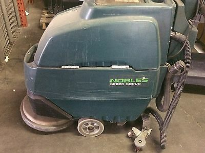 "Nobles Speed Scrub SS17-20 Walk Behind Floor Scrubber 20"" Disk"