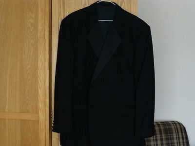 Men's Black Dinner/Tuxedo Jacket Chest 44-46""