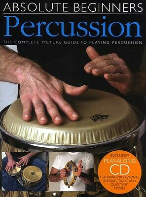 Absolute Beginners - Percussion. Sheet Music, CD