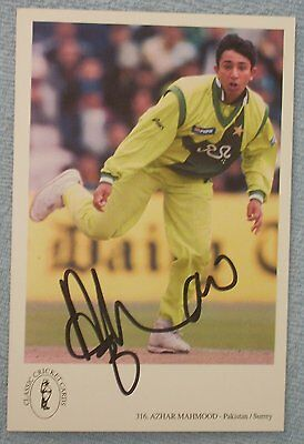 Azhar Mahmood cricket signed Surrey / Pakistan