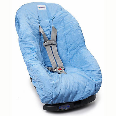 Nomie Baby Toddler Car Seat Cover - Light Blue NEW