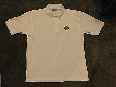 Official Wimbledon Tennis Polo Shirt In White