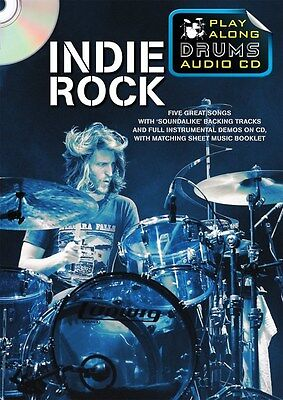 Play Along Drums Audio CD: Indie Rock. CD, Sheet Music
