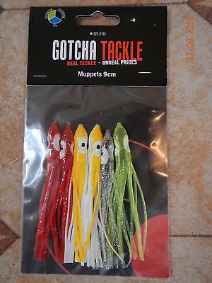 Fishing tackle Pack of 6 Muppets 9cm brand new unopened