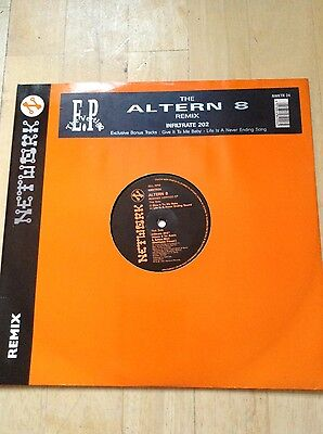 """The Altern 8 Remix Infiltrate 202 EP 12"""" Vinyl Record"""