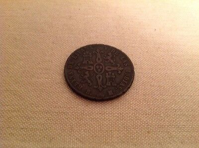 Old Coin Spain 1836