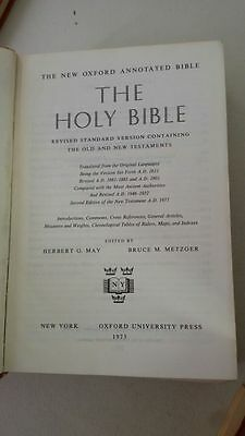 The Holy Bible Revised Standard Version Containing the Old and New Testaments Tr