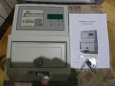 S P Wales 30amp coin meter (TIM30) £1.00 and 20p coin's