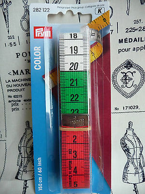 Prym Colour Tape Measure | Sewing | Haberdashery | Crafts |