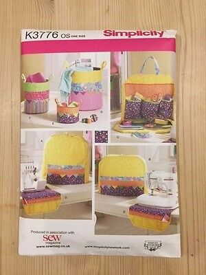 Simplicity sewing accessories pattern K3776