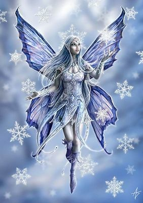 Snowflake Fairy - Anne Stokes Yule Greeting Cards