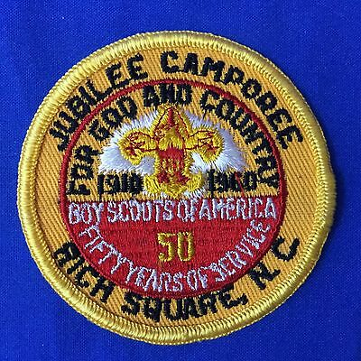 Boy Scout 1960 Jubilee Camporee Rich Square, N.C. Patch