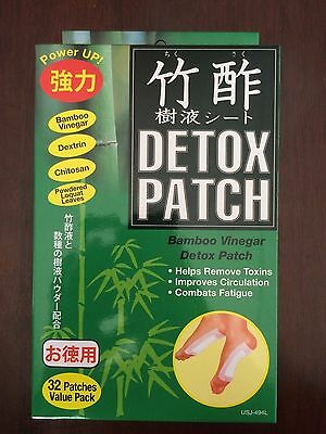 Bamboo Vinegar Detox Patch (32 Patches Value Pack)