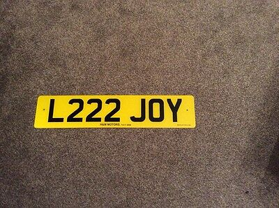 personalised number plate for xmas christmas joy