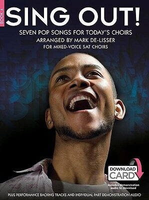 Sing Out! Seven Pop Songs For Today's Choirs - Bo.... SAT Sheet Music, Downloads