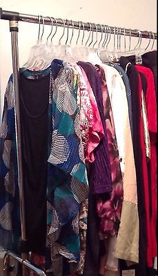 Plus Size 10 PC Lot Mixed Women's Clothing-Sizes 1X 2X 3X 4X + Tops Pants Skirts