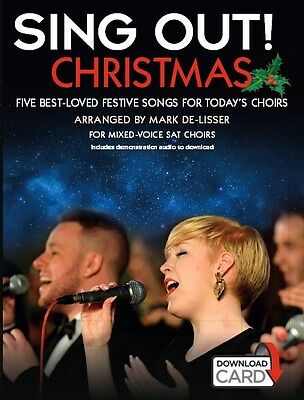 Sing Out! Christmas (Book/Audio Download). SAT Sheet Music, Downloads