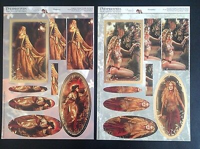 Hunkydory Fairies Goddesses and Legends die cut toppers