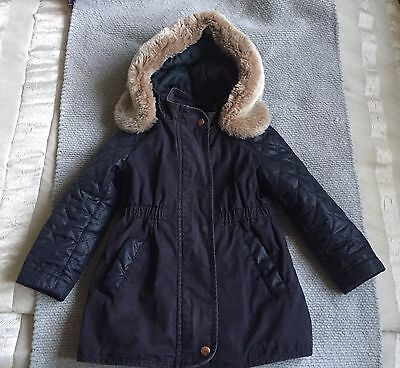 girls ted baker coat Age 3-4 Years