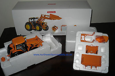 Wiking 1/32 John Deere 7430 With Loader And Attachments (ORANGE)