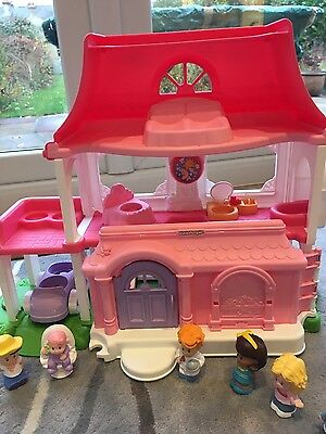 fisher price little people house with people