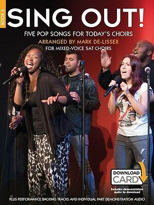 Sing Out! 5 Pop Songs For Today's Choirs - Book 5.... SAT Sheet Music, Downloads