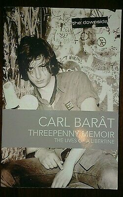 Threepenny Memoir by Caral Barat Book / The Libertines / Oasis / RRP £14.99