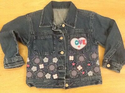 Mothercare girls denim jacket, age 3-4 years