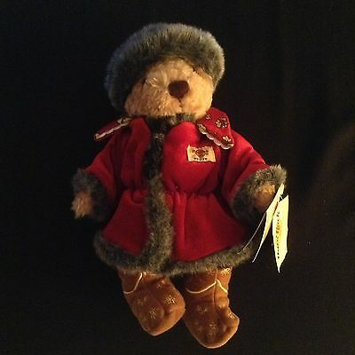 Herrington/Hard Rock Cafe Limited Edition Country Series Bear - Russia 2004