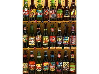 Cobble Hill 1,000 Piece Jigsaw Puzzle - Beer Collection