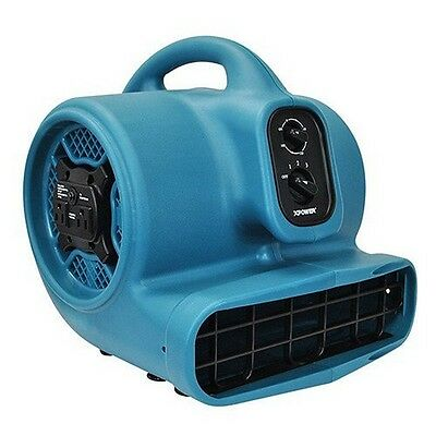 XPOWER P-450AT   Freshen Aire 1/3 HP 3 Speeds Scented Air Mover with Timer and P