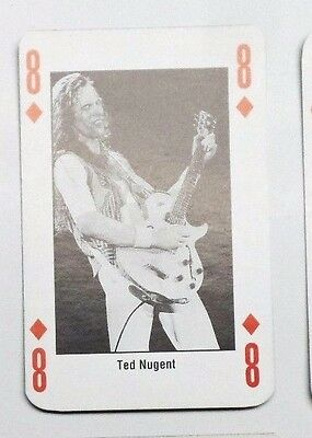 1991 Kerrang! Playing Card:  Ted Nugent