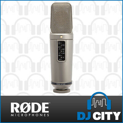 Rode NT2-A Studio Condenser Microphone w/ Shock Mount & Pop Filter