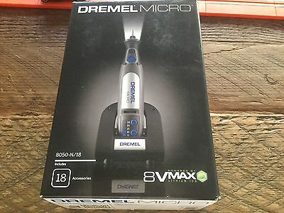 Dremel Micro 8V Max Cordless Rotary Tool With Accessories