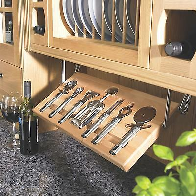 Kitchen UTENSIL TRAY Flatware Cutlery Storage Drawer Organizer Silverware Holder