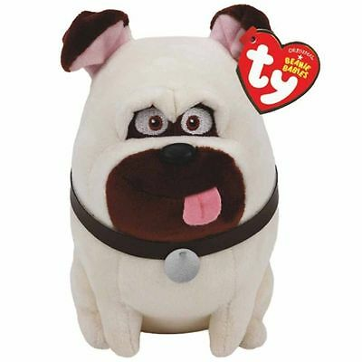 Mel Dog Beanie Baby 8 inch - The Secret Life of Pets - Stuffed Animal by Ty
