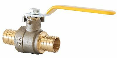 "3/4"" Inch Full Port Brass Ball Valve Lead Free Pex Ends UPC/UL/FM"