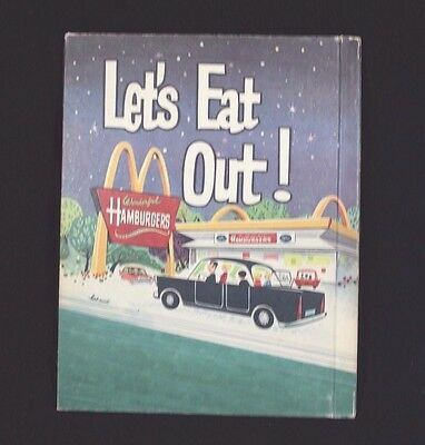 Rare 1965 McDonald's Let's Eat Out! Book